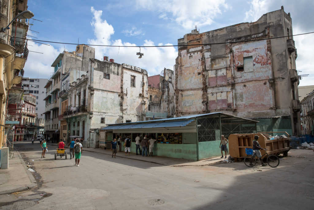 Havana, Cuba - Sunday, July 30, 2017.  Havana Streets