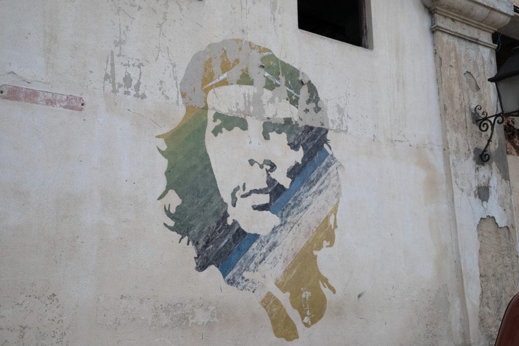 Cuba - Sunday, July 30, 2017.  Cuban signs, propaganda, and street art