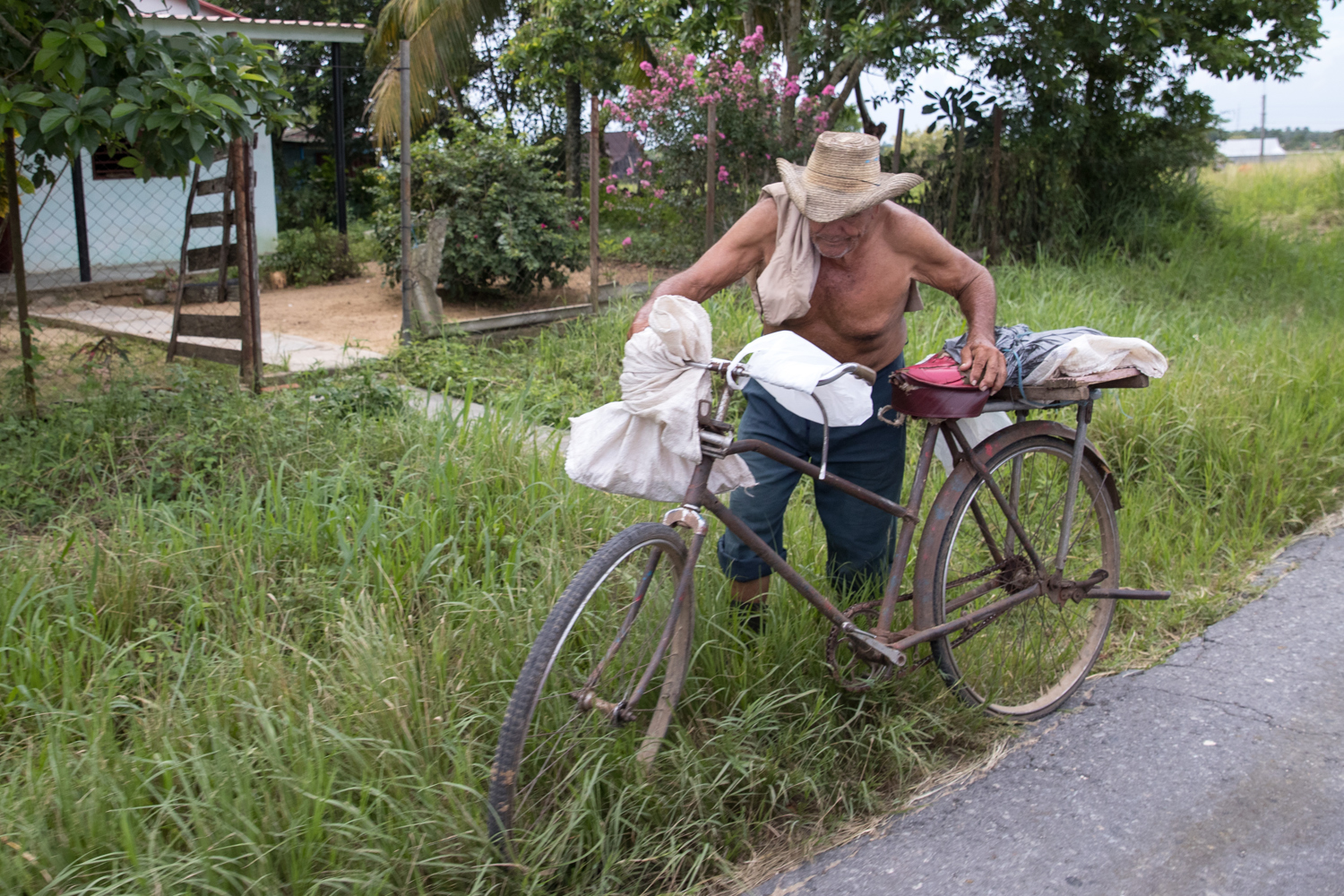 Cuban heading to a small town in the countryside. - Cuba Photography