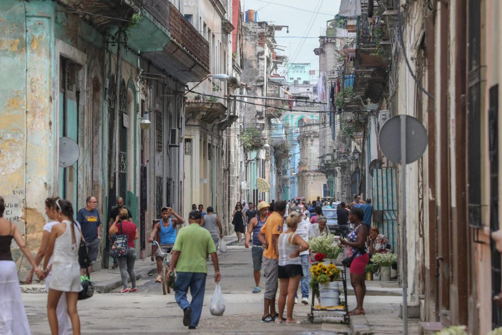 Havana, Cuba - Tuesday, August 1, 2017.  Havana Streets
