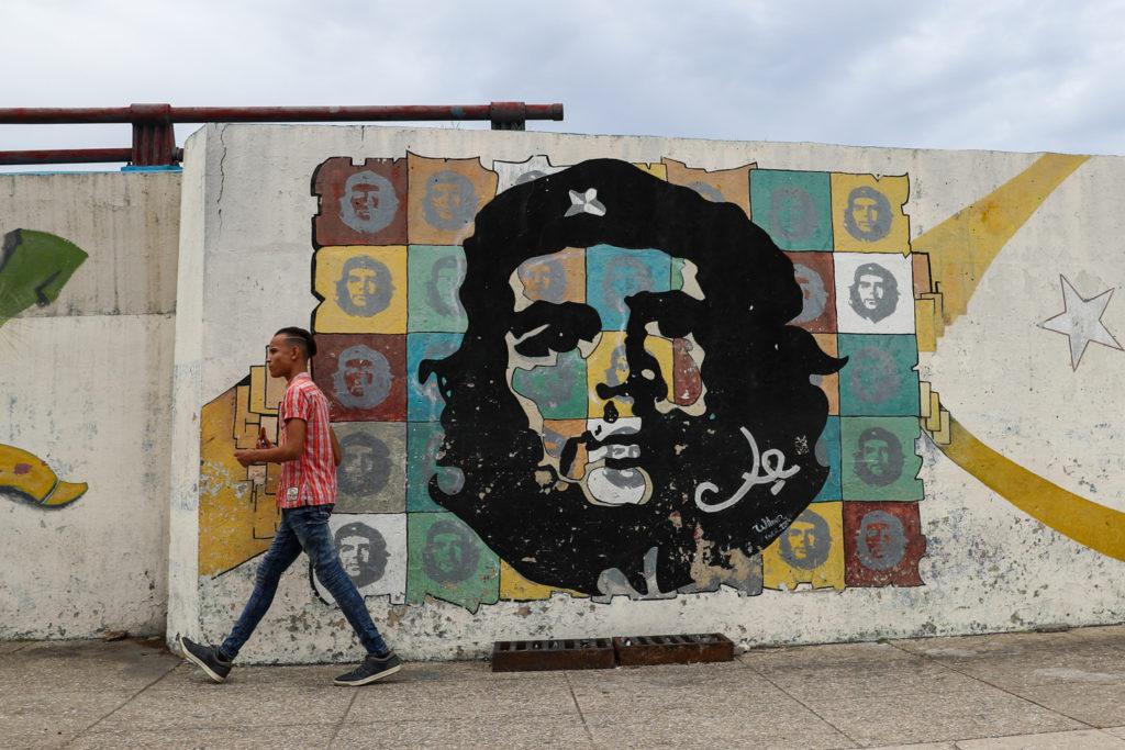 Cuba - Tuesday, August 1, 2017.  Cuban signs, propaganda, and street art