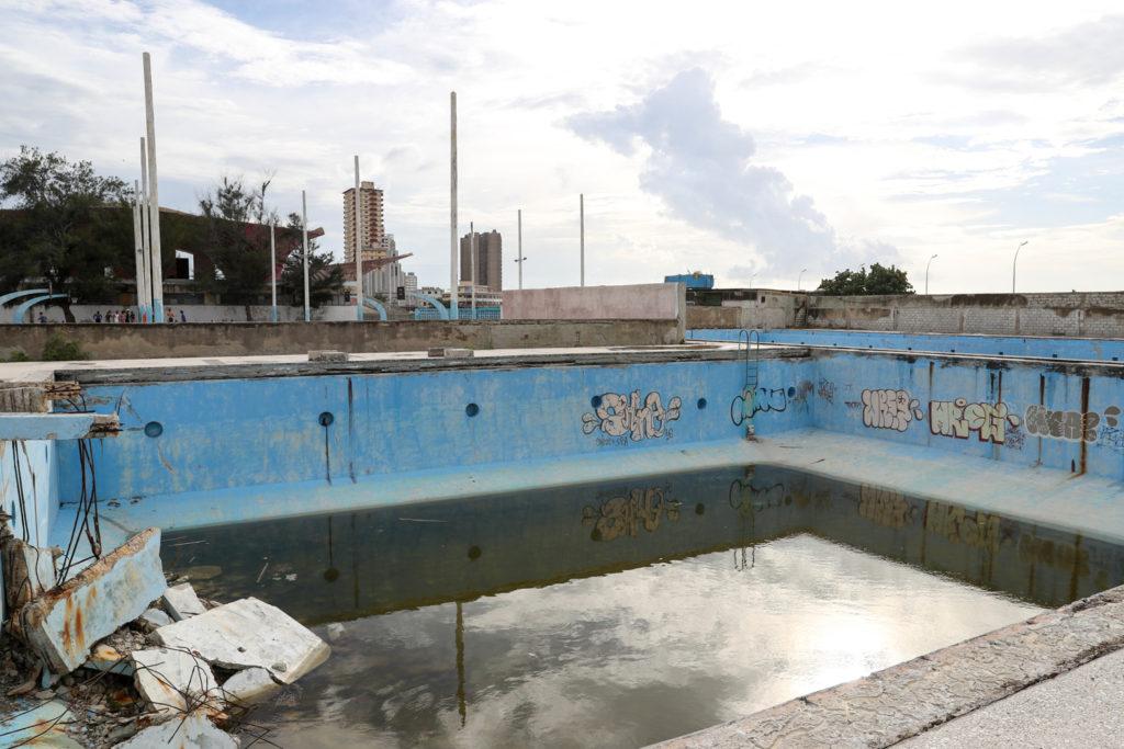 Havana, Cuba - Tuesday, August 1, 2017.  Havana swimming pools