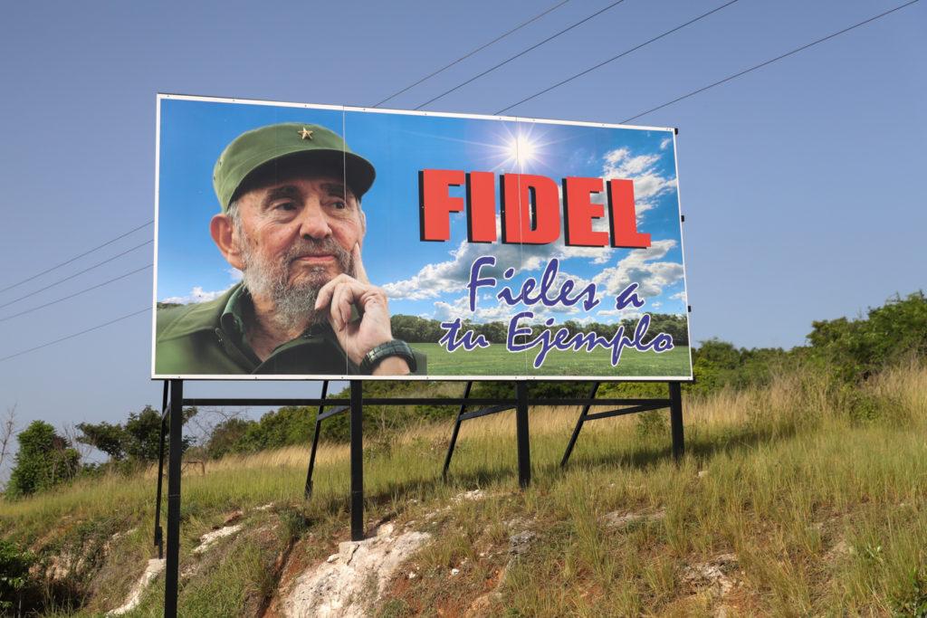 Cuba - Thursday, August 3, 2017.  Cuban signs, propaganda, and street art