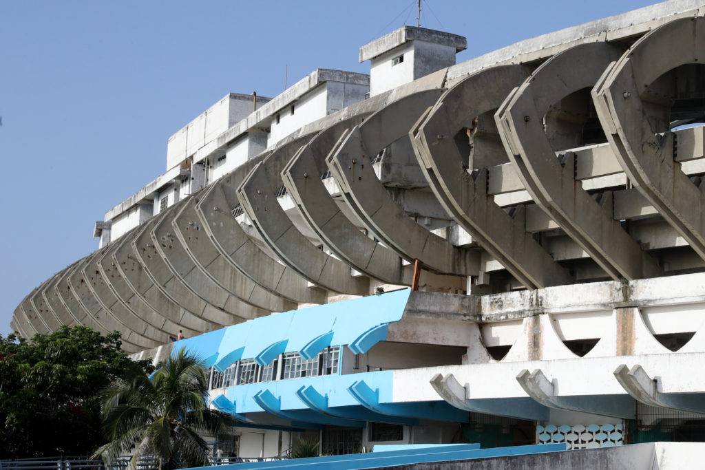 Havana, Cuba - Thursday, August 3, 2017.  Estadio Panamericano de La Habana