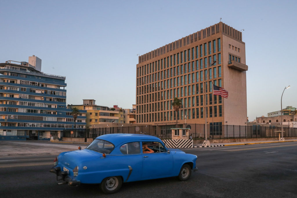 Havana, Cuba - Friday, August 4, 2017.  United States Embassy
